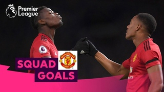 Magical Manchester United Goals   Pogba, Rooney, Ronaldo   Squad Goals