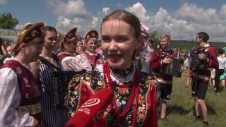 Специальный проект. XX Международный фольклорный праздник «Троицкие хороводы в Орловском Полесье»