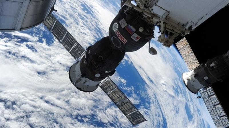 Возвращение корабля Союз МС 16 на Землю Прямая трансляция