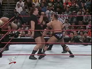 The Rock & Rikishi vs Triple H & Big Show 1/24/2000