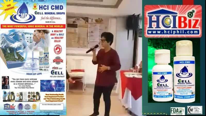 Hyperthyroid, Diabetis at Arthiritis Napagaling ng HCIBiz CMD