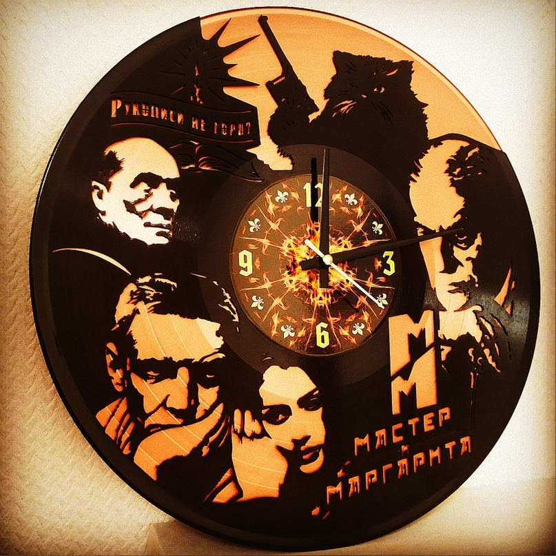 Эволюция изготовления часов и других изделий из виниловых пластинок, изображение №18