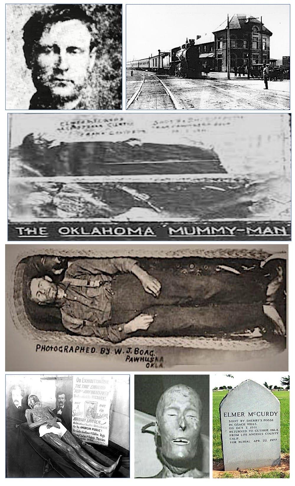 Элмер Маккерди (1880-1911) — американский грабитель, чьё тело было обнаружено спустя 65 лет