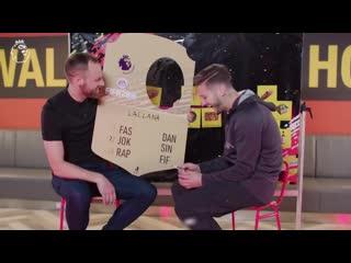 Liverpools adam lallana rates the worst christmas food _ uncut _ ad