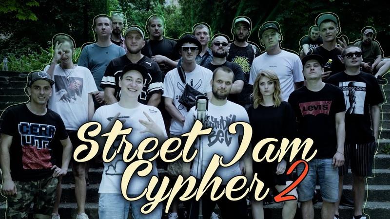 STREET JAM CYPHER Часть 2 Live