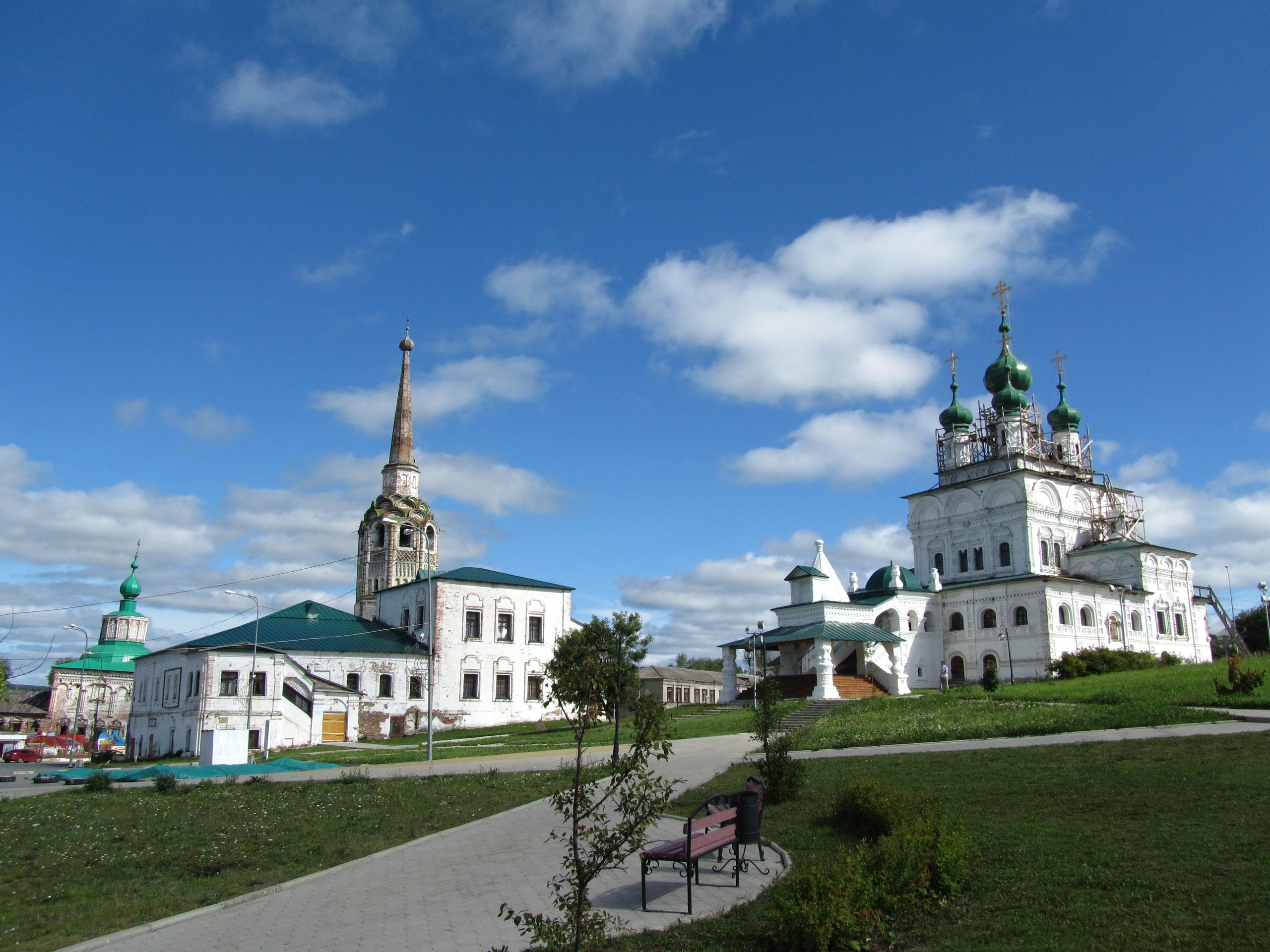 Главная (соборная) площадь Соликамска