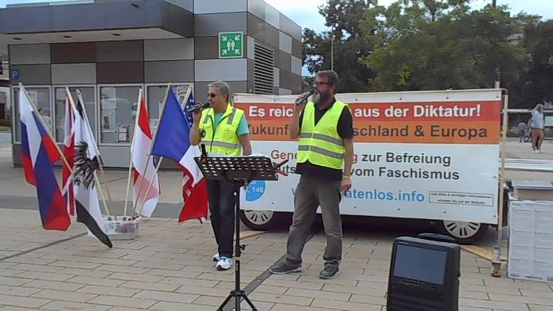 GelbeWesten in Gießen (4) 10.07.2019, Technische Probleme-SSL ??!!