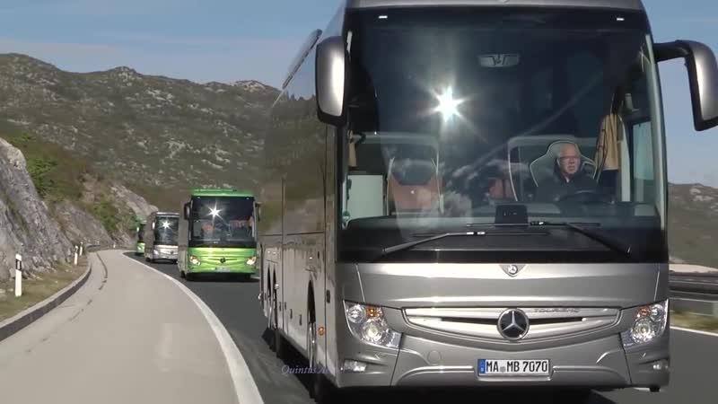 Music clip Italo Disco Cover Mercedes Benz Bus
