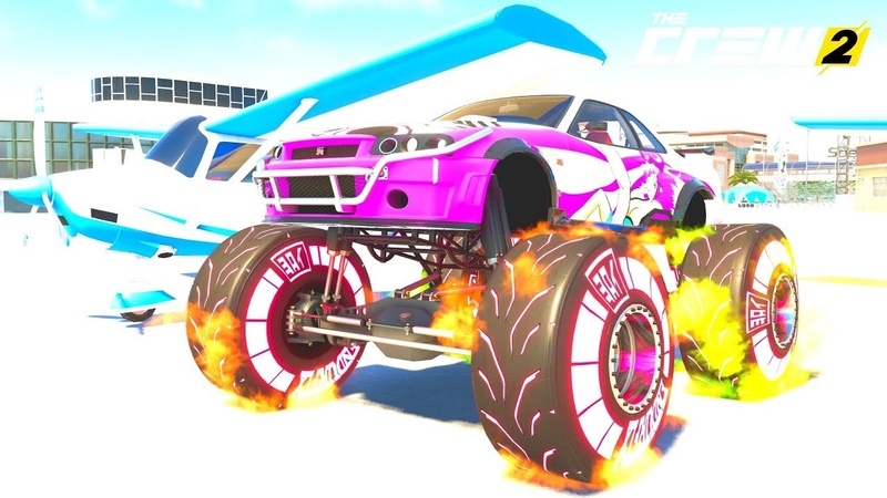 THE CREW 2 GOLD EDiTiON FUN RACE LiVE REPLAY COLORFUL SMOKE AND PiNK NEON PART 951