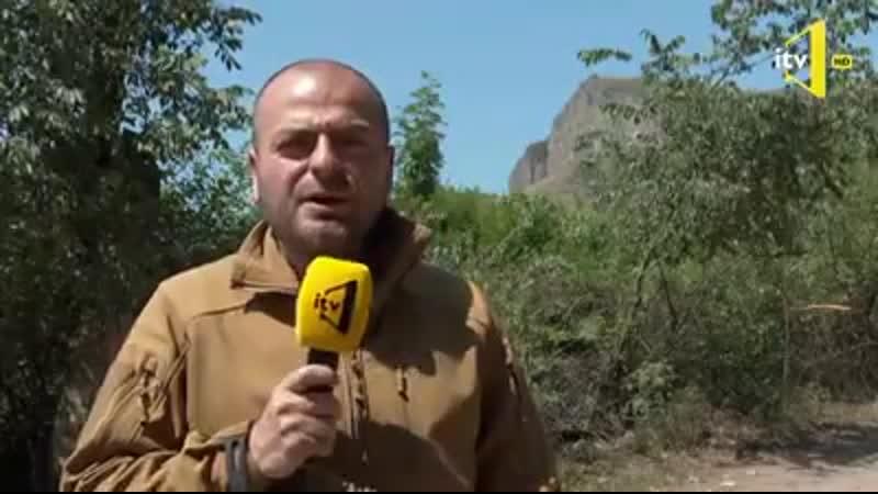 Гейдар Мирза с сарказмом отметил Арцрум посмотри сюда Я здесь А где твои солдаты Пусть стреляют с вершины горы