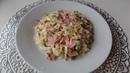 Салат из свежей капусты с колбасой и помидорами