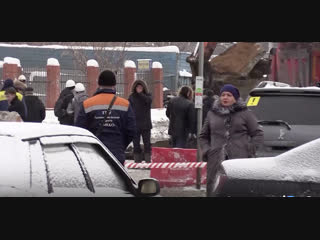 На ферганской улице в москве образовался огромный провал прямой эфир
