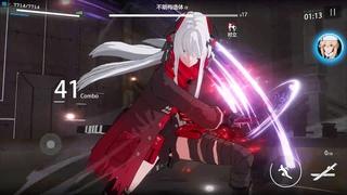 Punishing : Gray Raven - Lucia S vs Lucia S (CHAOS) - Solo No Damage