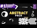 Cartoon Abstract Elements Premiere Pro MOGRT Envato Templates