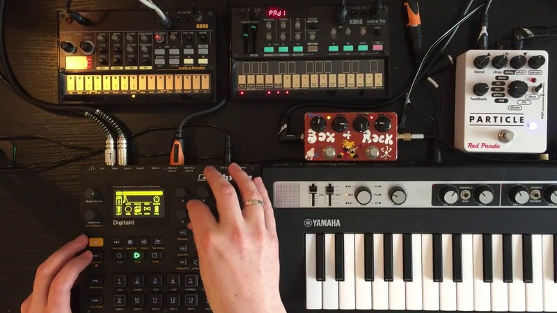 ElectronicaElectroBreaks Jam - Elektron Digitakt, Reface CP, Volca FM and Beats, Particle and BOR