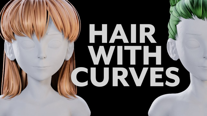 Blender Tutorial Hair With Curves