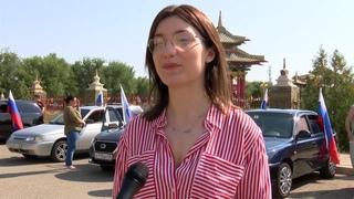 🚗Представители образовательных учреждений Элисты приняли участие в автопробеге.
