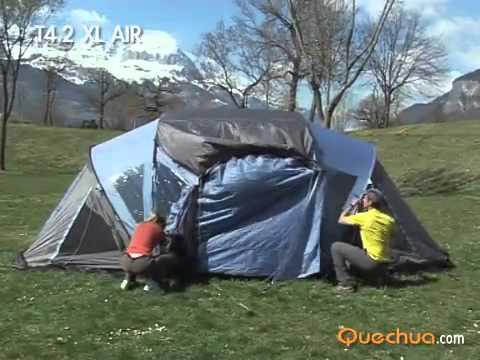 Quechua Tenda campeggio T4 2 xl air