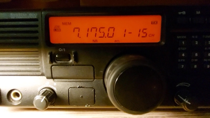 QSO с RA3TLB Алексей Игонин г Нижний Новгород Сравнение двух трансиверов Алексея