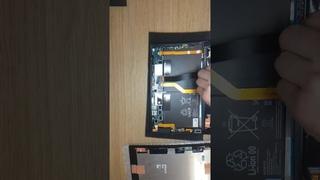 Sony Z tablet 2 LCD test