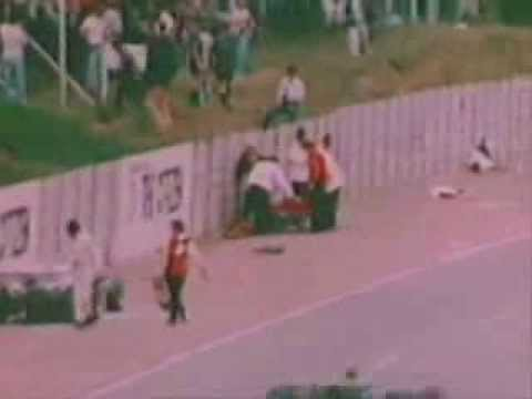 Tom Pryce death,Kylami, South Africa, 1977