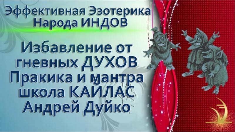 Мантра от гневных и голодных духов, читает Андрей Дуйко