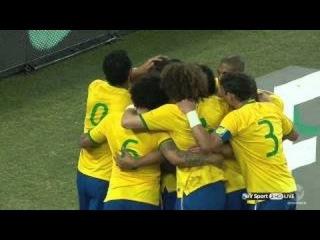 Oscar Goal - South Africa vs Brazil 0-1 ( Friendly Match ) 2014