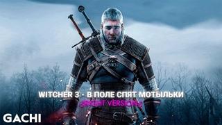 Witcher 3 - В поле спят мотыльки (Gachi Mix) ♂Right Version♂