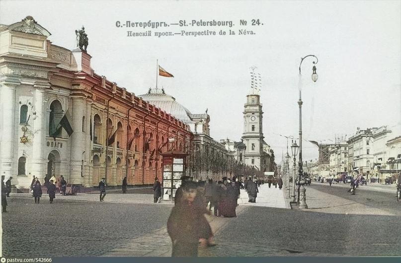 Эксклюзивные цветные фотографии Петербурга начала 20 века - часть 2, изображение №5
