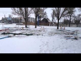 Спилили детскую площадку ул.Дзержинского 145.Мелитополь.