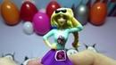 Много игрушек киндеров сюрпризов для девочек. Куколки