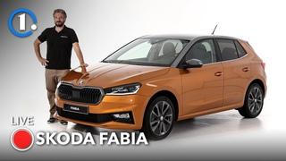 Nuova Skoda Fabia (2021), eccola vista dal vivo