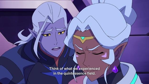 В погоне за призраками восьмого сезона(Voltron), изображение №8