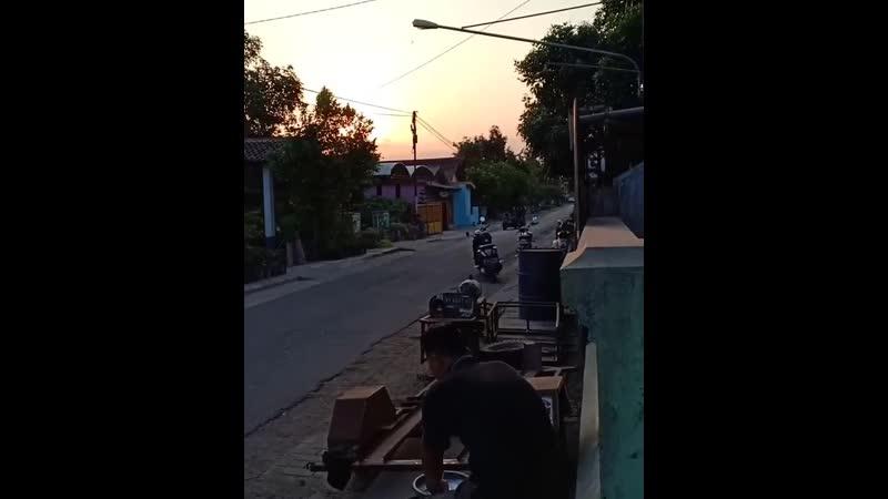 Индонезия Кастом веспа