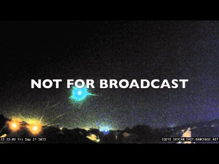 09-27-13 Very large fireball in the east sky from Central Indiana