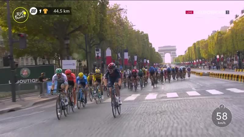 Тур де Франс 2020 Этап 21 Часть 2