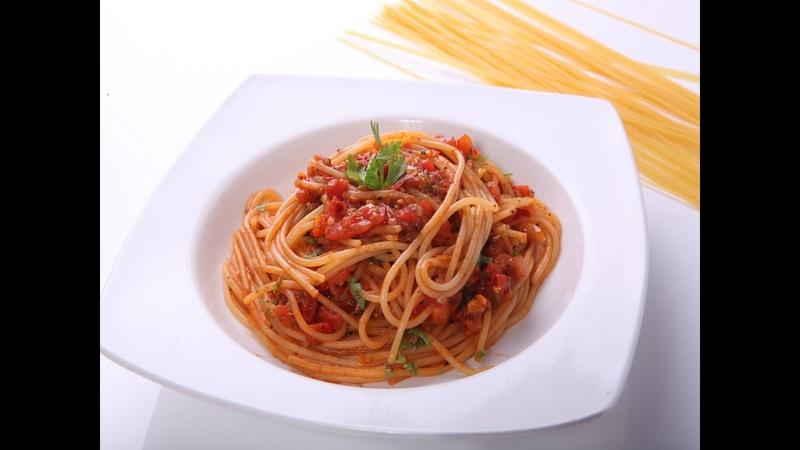 How to Make SPAGHETTI NAPOLITANA Napoli Simple Delicious