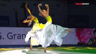 Дина и Арина Аверины ВМЕСТЕ. Показательное выступление на гала-концерте после Гран-При Москва 2021