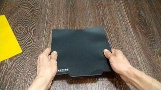 Магнитная основа для 3д принтера, установка и пробная печать.