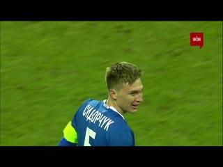УПЛ | Чемпионат Украины по футболу 2021 | Заря - Динамо - 0:2. Видео гола Сидорчука (58`)