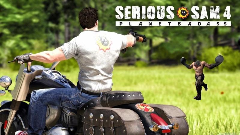 Serious Sam 4 показали ПУЛЕМЁТ корабль Ментала жёлтые комбинезоны Новый геймплей и детали