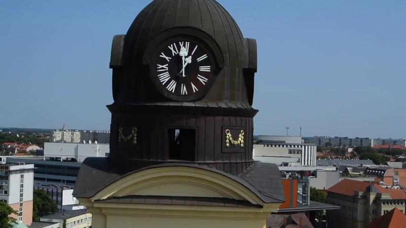 2018 08 Венгрия Дебрецен Вид на город с башни Большой церкви