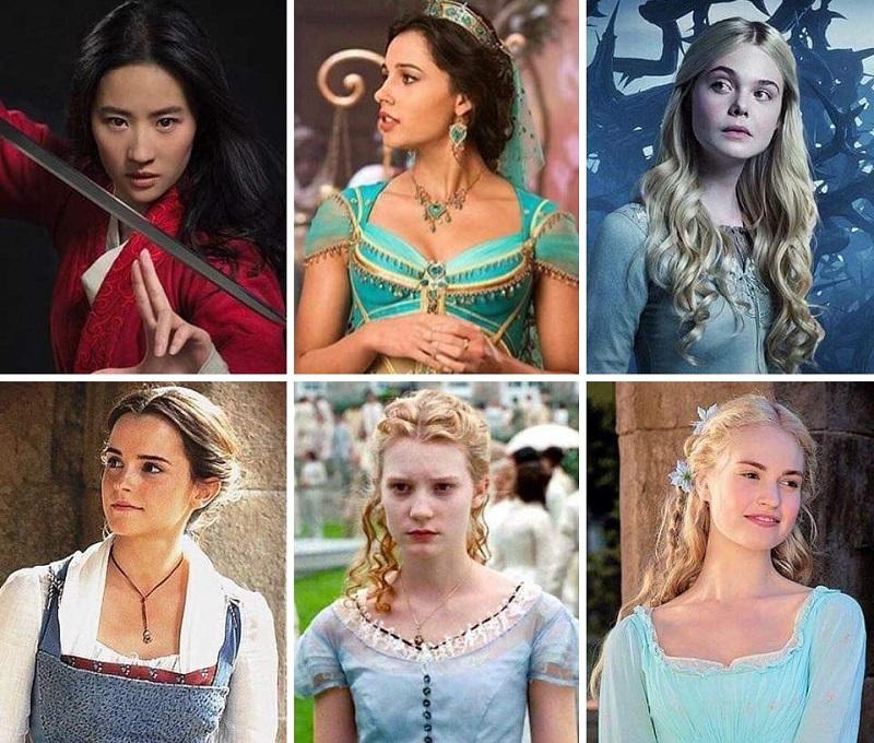 Películas De Princesas Disney Reales Live Action