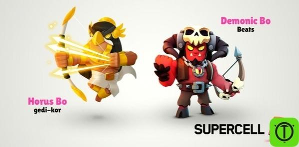 Два данных скина выиграли в Supercell Make! В