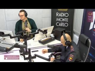 Станислав Бондаренко (ГИБДД России по Омской области) на Radio Monte Carlo Омск. Дорожный акцент. Пассажирский транспорт