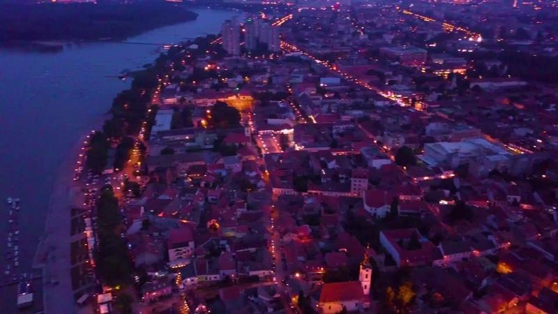 4K - Belgrade / Beograd, Zemunski kej