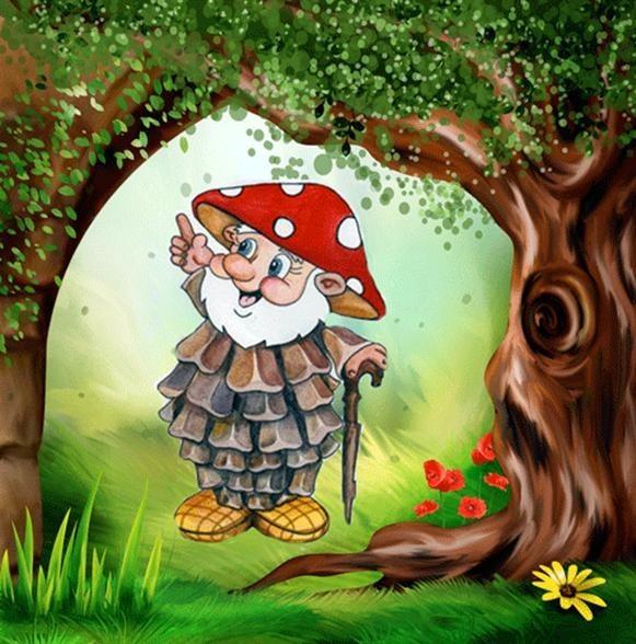 Картинки для дошкольников лесовичок