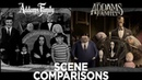 The Addams Family 1964-1966 The Addams Family 2019 Side-by-Side Comparison