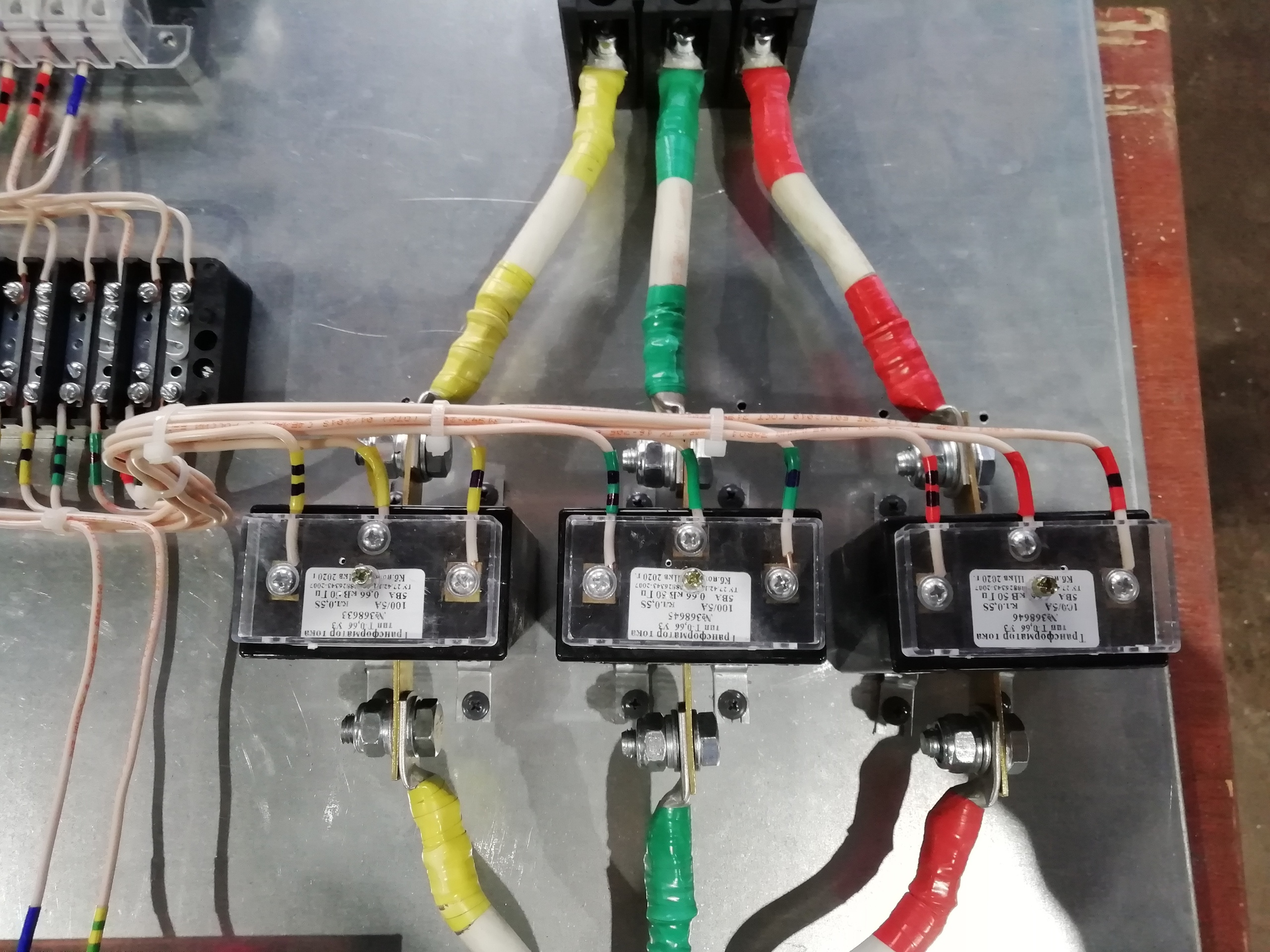 подключение электросчетчика через ТТ