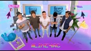 #LIKEЧАС ребята из mband  на музыке первого